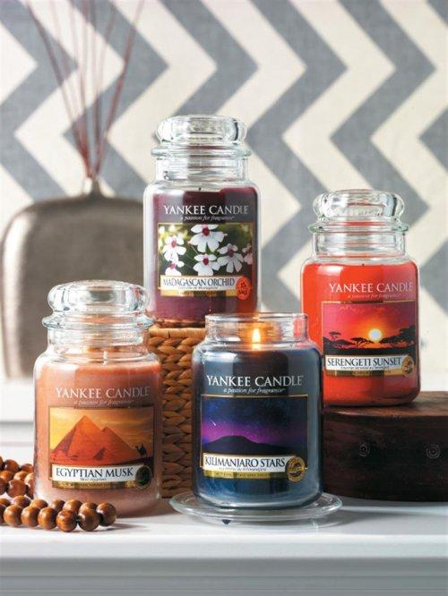 duftkerze housewarmer serengeti sunset 104g von yankee candle. Black Bedroom Furniture Sets. Home Design Ideas