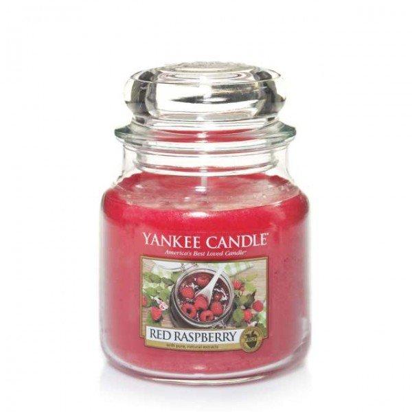 duftkerze housewarmer red raspberry 411g von yankee candle. Black Bedroom Furniture Sets. Home Design Ideas