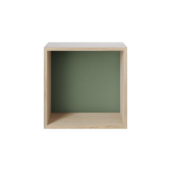 muuto regal mini stacked gr n mittel eur 107 10. Black Bedroom Furniture Sets. Home Design Ideas