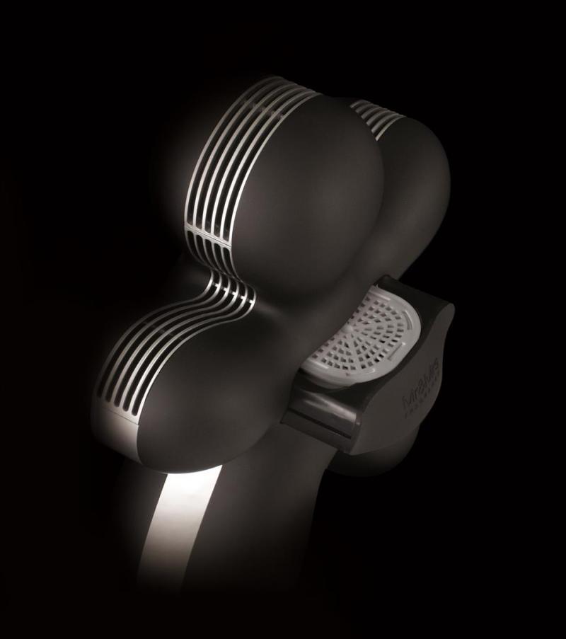 mr mrs fragrance elektrischer raumduft diffuser george soft touch schwarz. Black Bedroom Furniture Sets. Home Design Ideas