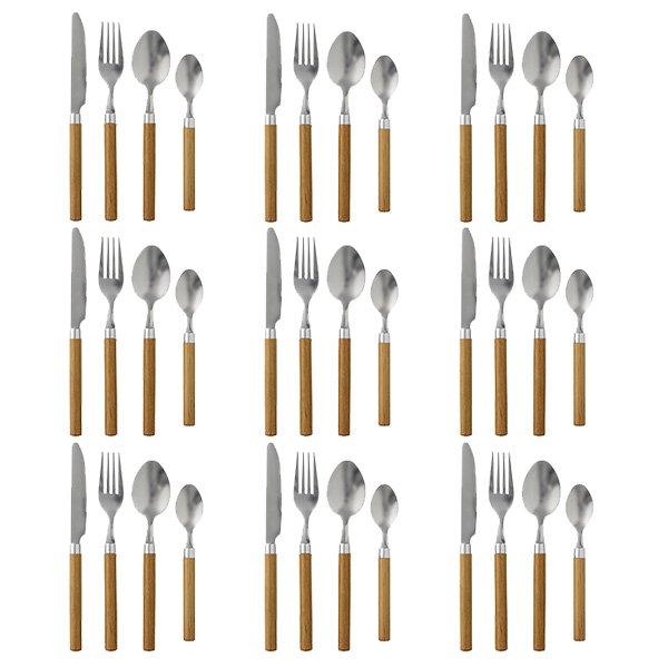 Besteck Set Bambus 4 Teilig Von Bloomingville