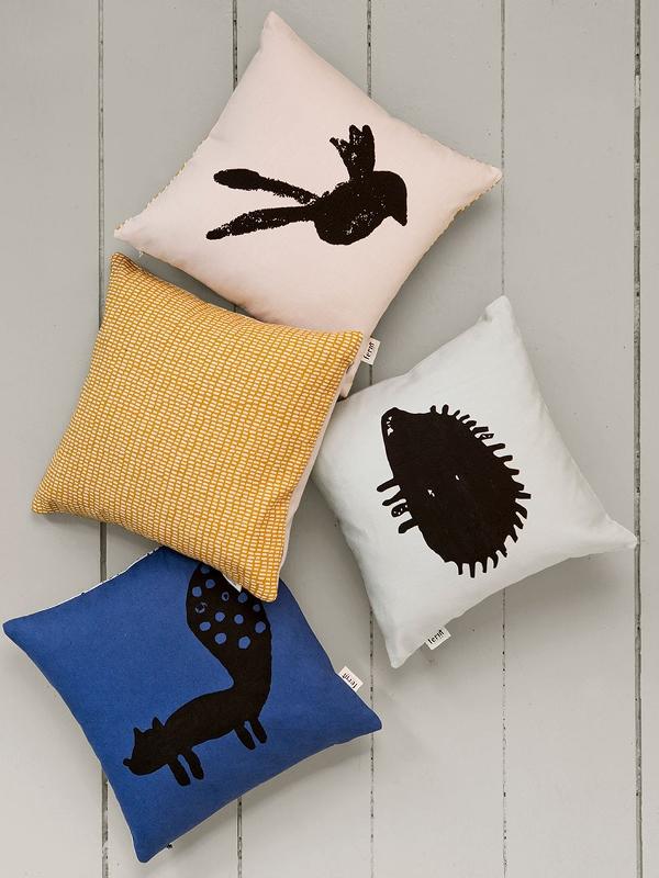 ferm living kissen fuchs eur 27 59. Black Bedroom Furniture Sets. Home Design Ideas