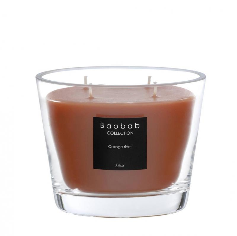 duftkerze all seasons orange river max 10 500g von baobab. Black Bedroom Furniture Sets. Home Design Ideas