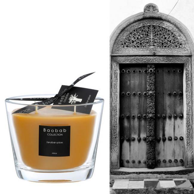 duftkerze all seasons zanzibar spices max 10 500g von baobab. Black Bedroom Furniture Sets. Home Design Ideas