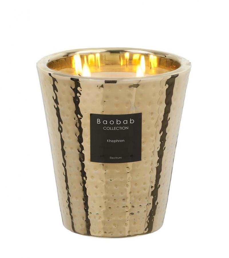 duftkerze electrum khephren max 16 1kg von baobab. Black Bedroom Furniture Sets. Home Design Ideas