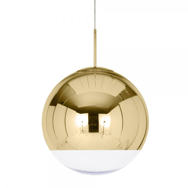 deckenlampe mirror ball gold 50 cm von tom dixon. Black Bedroom Furniture Sets. Home Design Ideas
