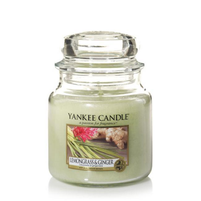 duftkerze housewarmer lemongrass ginger 411g von yankee candle. Black Bedroom Furniture Sets. Home Design Ideas