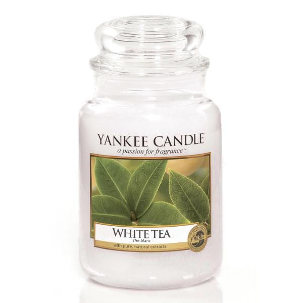 duftkerze housewarmer white tea 623g von yankee candle. Black Bedroom Furniture Sets. Home Design Ideas
