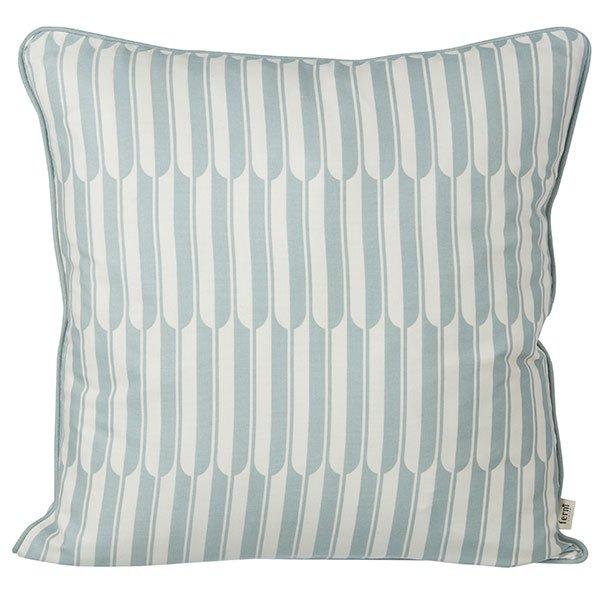 kissen arch blau wei von ferm living. Black Bedroom Furniture Sets. Home Design Ideas