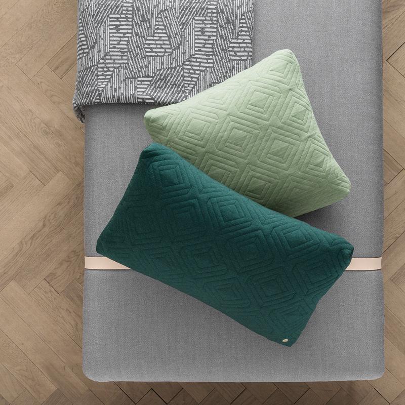 decke maze grau von ferm living. Black Bedroom Furniture Sets. Home Design Ideas