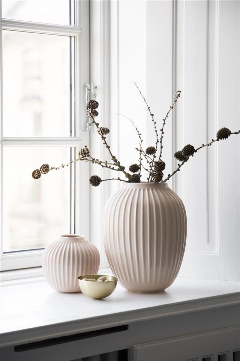 k hler design vase hammersh i rose 12 5cm. Black Bedroom Furniture Sets. Home Design Ideas