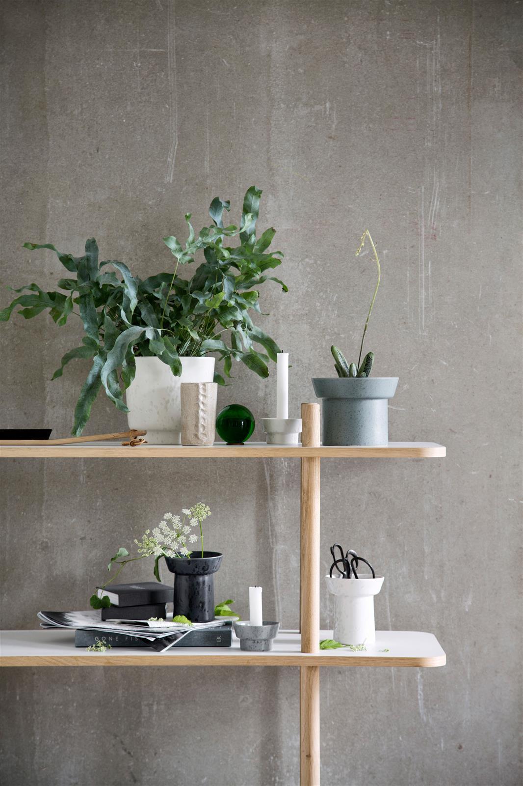 vase ombria marble white von k hler design. Black Bedroom Furniture Sets. Home Design Ideas