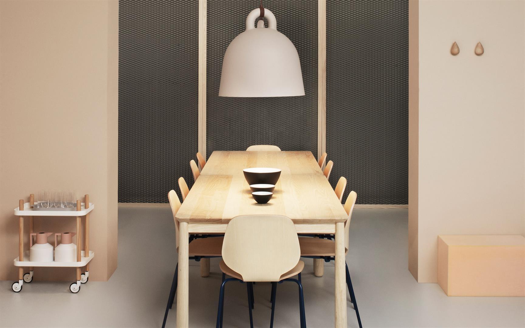 lampe bell white l von normann copenhagen. Black Bedroom Furniture Sets. Home Design Ideas