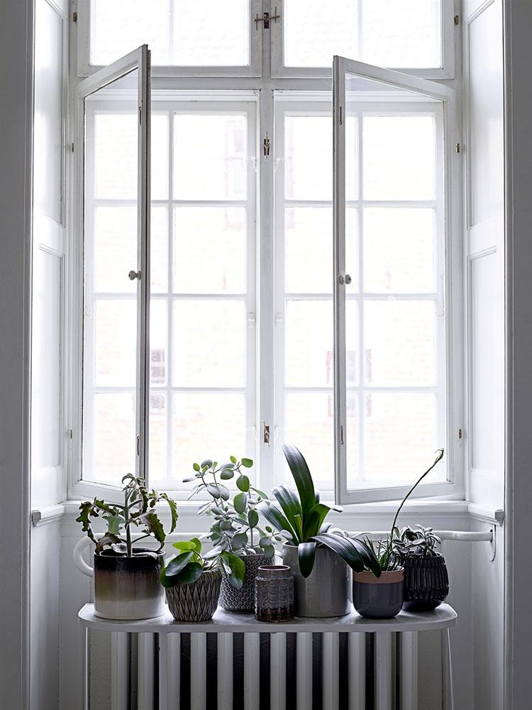 bloomingville blumentopf karo braun klein eur 15 00. Black Bedroom Furniture Sets. Home Design Ideas