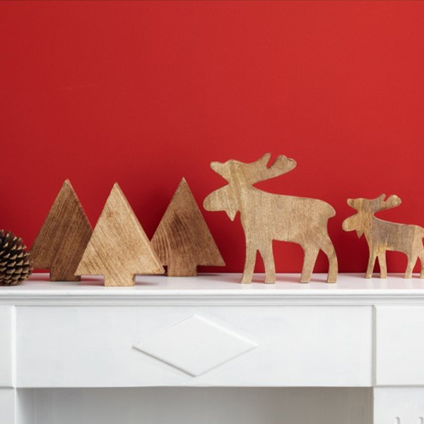 deko elch gro von leonardo. Black Bedroom Furniture Sets. Home Design Ideas
