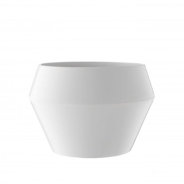 blumentopf rimm white gro von by lassen. Black Bedroom Furniture Sets. Home Design Ideas