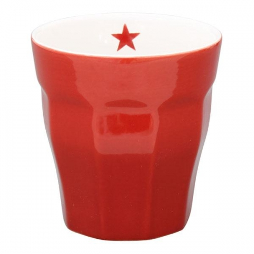 krasilnikoff becher latte macchiato rot. Black Bedroom Furniture Sets. Home Design Ideas