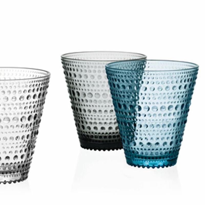 Iittala Gläser glas kastehelmi hellblau iittala