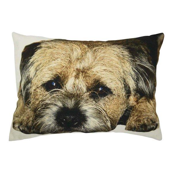 kissen border terrier halbe gr e von mars more bei erkmann. Black Bedroom Furniture Sets. Home Design Ideas