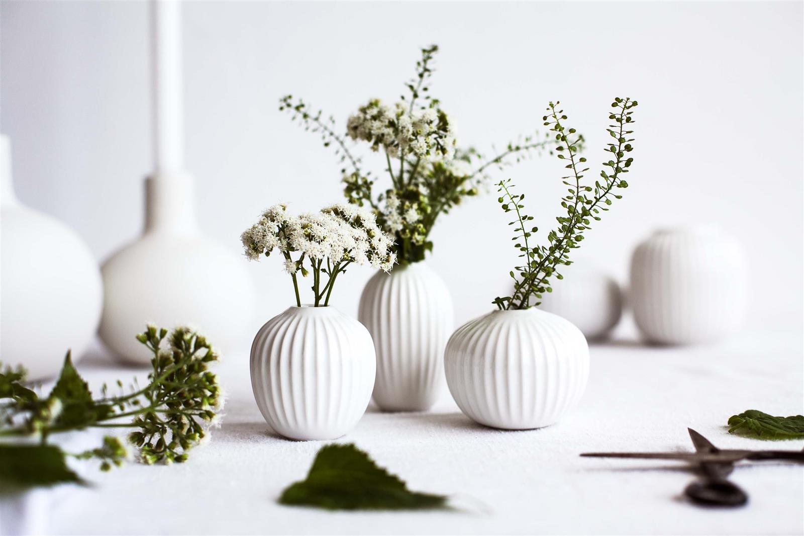vasen hammersh i rose anthrazit pflaume von k hler design. Black Bedroom Furniture Sets. Home Design Ideas