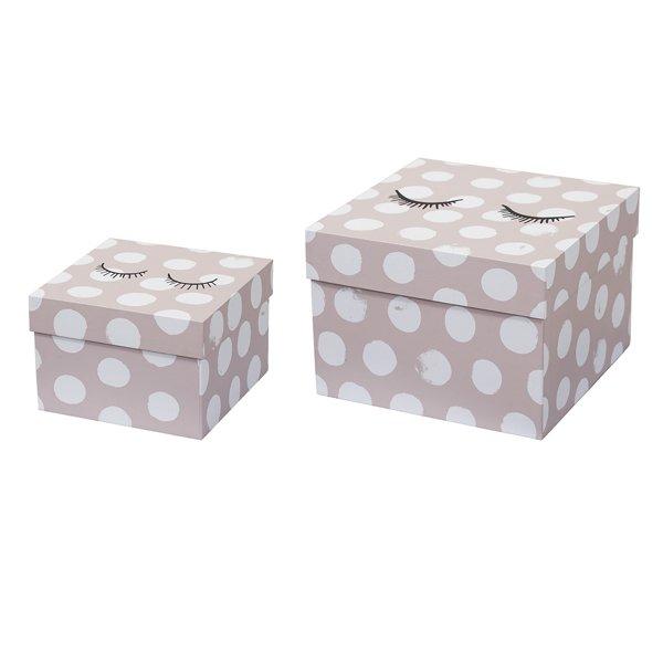 Mini aufbewahrungsboxen f r kinder punkte von bloomingville for Bloomingville kinder