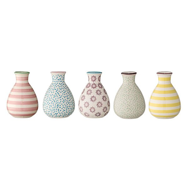 bloomingville vasen patrizia 5 teilig eur 35 00. Black Bedroom Furniture Sets. Home Design Ideas