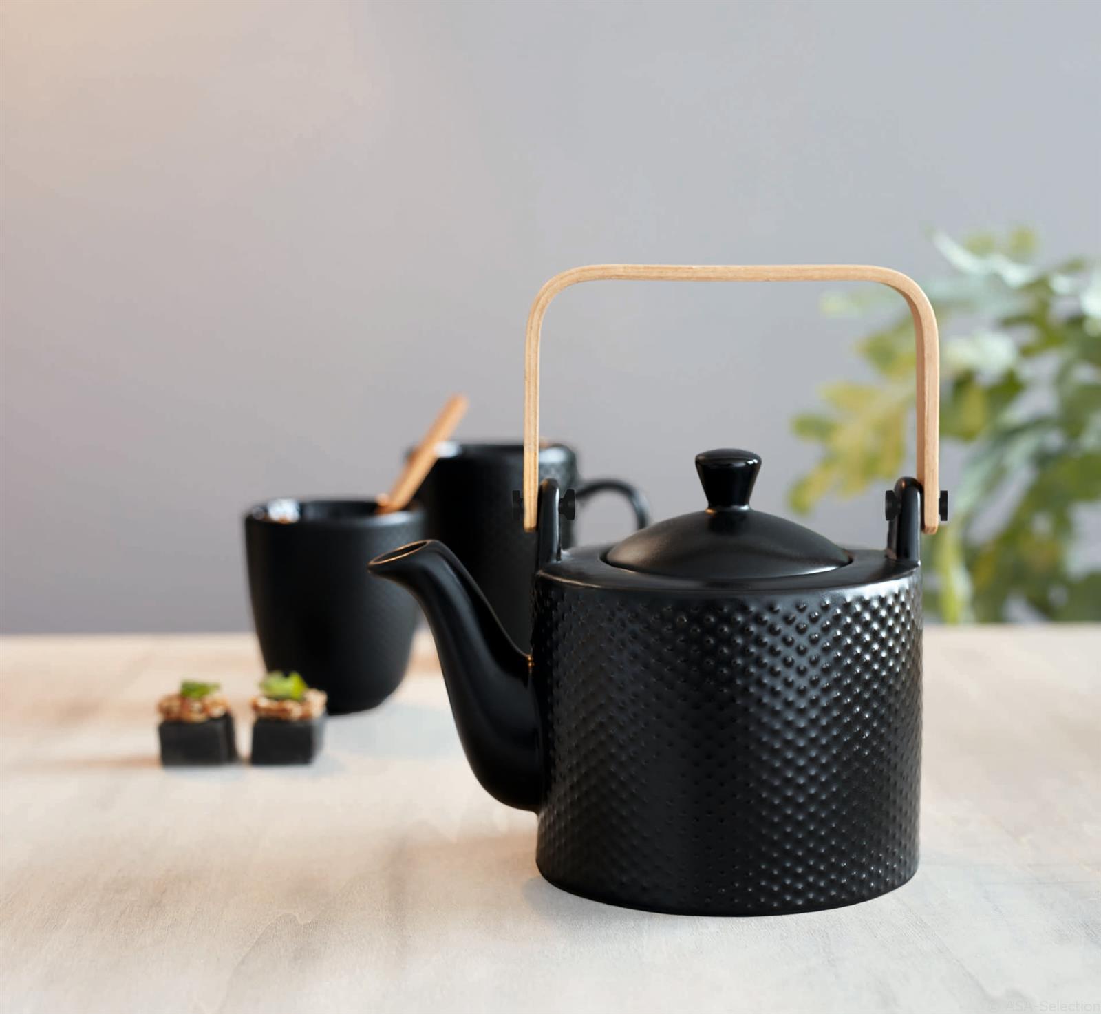 asa teekanne linna waben schwarz eur 30 20. Black Bedroom Furniture Sets. Home Design Ideas