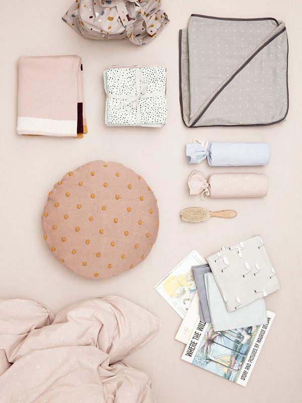 kissen rund popcorn staubig mint von ferm living. Black Bedroom Furniture Sets. Home Design Ideas