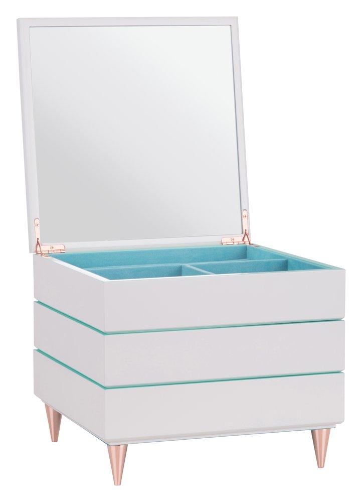 quartier schmuckbox stapelbar wei t rkis gro von gift company. Black Bedroom Furniture Sets. Home Design Ideas