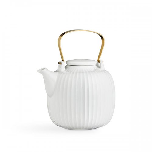 Design Teekanne teekanne hammershøi weiß kähler design