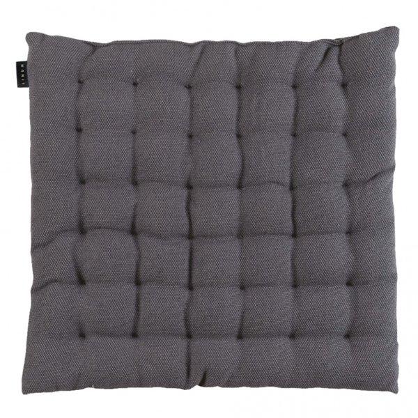 sitzkissen stuhlkissen kissen pepper 40 x 40 cm granitgrau von linum. Black Bedroom Furniture Sets. Home Design Ideas