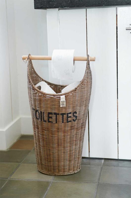 Toilettenrollenhalter klorollenhalter toiletten korb for Riviera maison tisch