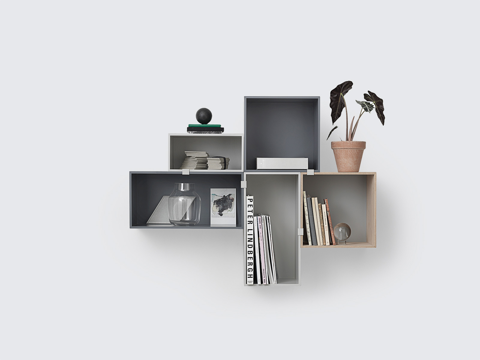 Muuto Regal muuto regal mini stacked dunkelgrau groß eur 139 00 gt