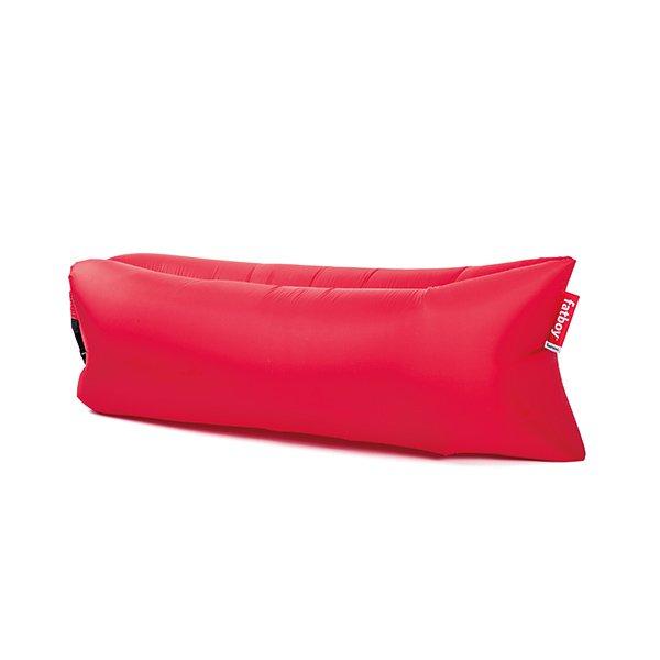 Outdoor sofa original lamzac 2 0 red von fatboy for Sofa hinchable lamzac