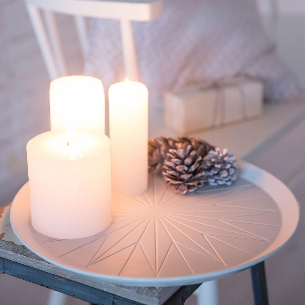 centerpiece winterzeit stern von r der design. Black Bedroom Furniture Sets. Home Design Ideas
