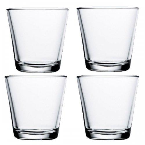 Iittala Gläser glas kartio klar klein im 4er set iittala