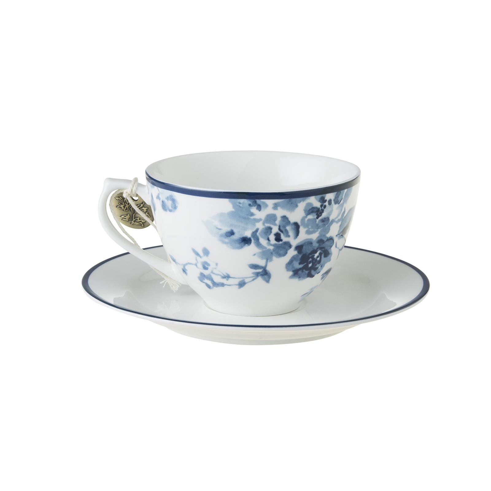 laura ashley cappuccino tasse und untertasse blueprint. Black Bedroom Furniture Sets. Home Design Ideas
