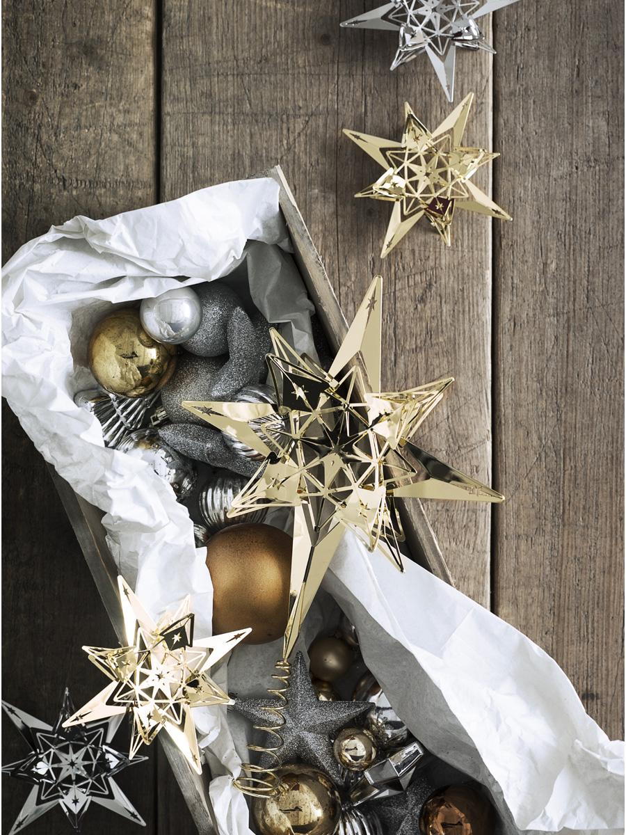 weihnachtsbaumspitze karen blixen silber von rosendahl. Black Bedroom Furniture Sets. Home Design Ideas