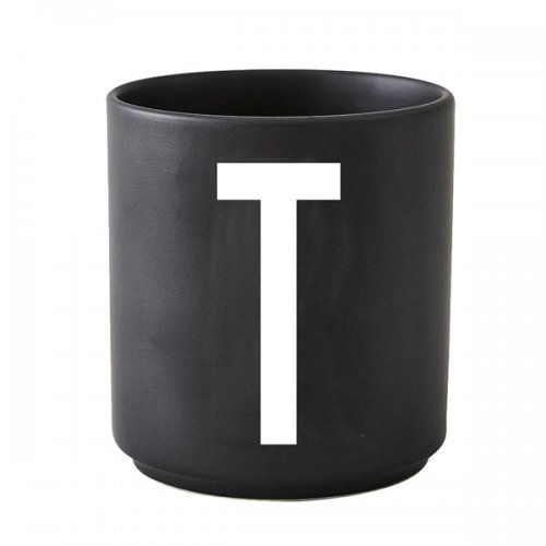 design letters tasse schwarz t eur 18 70. Black Bedroom Furniture Sets. Home Design Ideas
