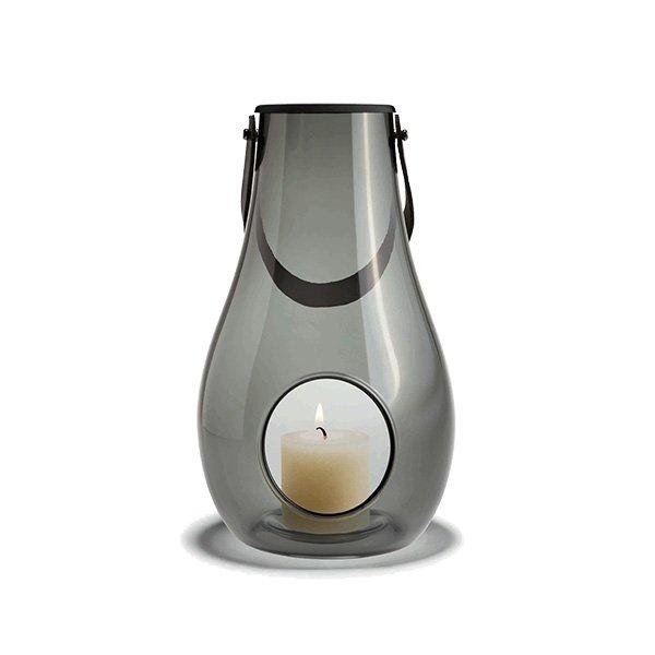 windlicht laterne dwl smoke gro von holmegaard. Black Bedroom Furniture Sets. Home Design Ideas