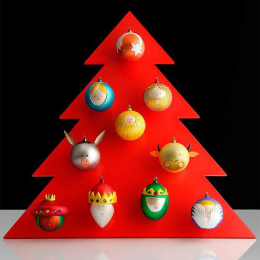 Christbaumkugel stellacometa von alessi bei erkmann for Alessi weihnachtskugeln