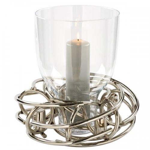 adventskranz kerzenleuchter windlicht corona mit glaseinsatz von fink. Black Bedroom Furniture Sets. Home Design Ideas