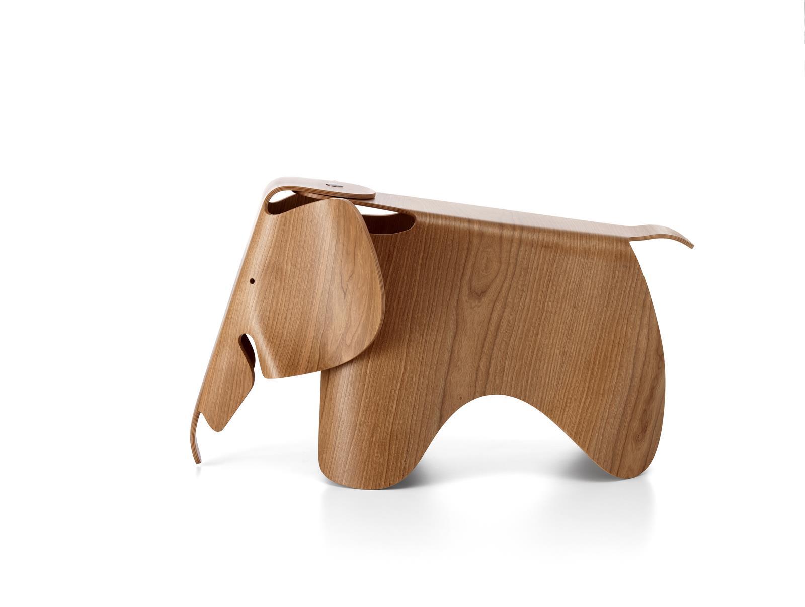 Hocker eames elephant plywood kirschbaum von vitra for Design lampen nachbau