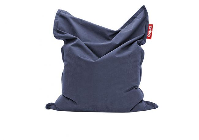 sitzsack original stonewashed blue von fatboy. Black Bedroom Furniture Sets. Home Design Ideas