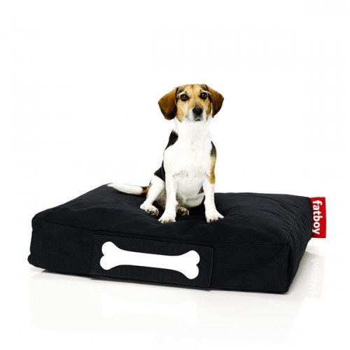 hundekissen doggielounge stonewashed schwarz klein. Black Bedroom Furniture Sets. Home Design Ideas