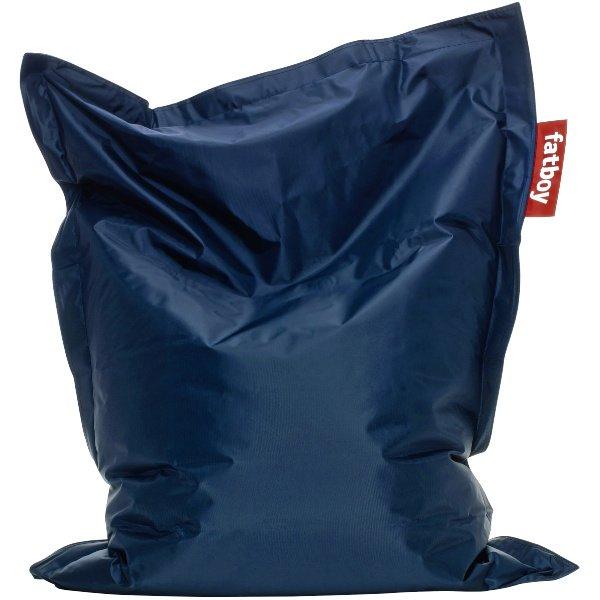 sitzsack junior blau von fatboy. Black Bedroom Furniture Sets. Home Design Ideas