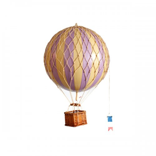 ballon travels light violett 18cm von authentic models. Black Bedroom Furniture Sets. Home Design Ideas