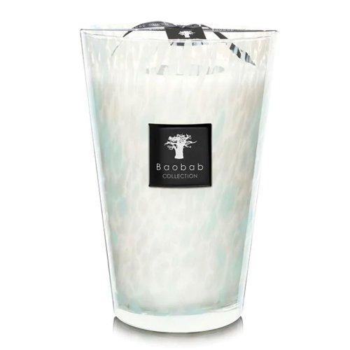 duftkerze pearls sapphire max 24 3kg von baobab. Black Bedroom Furniture Sets. Home Design Ideas