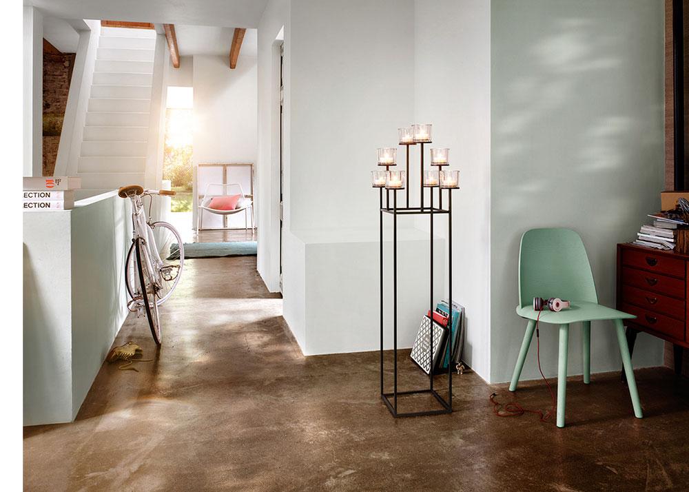standleuchter nero f r zwei kerzen von blomus. Black Bedroom Furniture Sets. Home Design Ideas