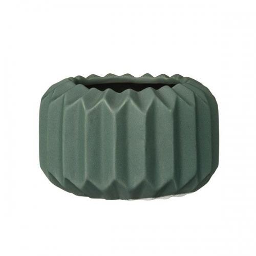 bloomingville teelichthalter fluted gr n. Black Bedroom Furniture Sets. Home Design Ideas